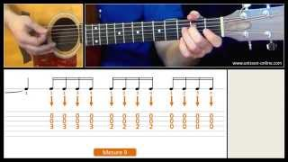 Jouer Wild world (Cat Stevens) - Cours guitare. Tuto + Tab