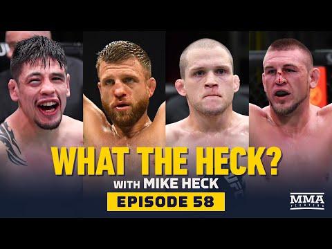 What the Heck: Brandon Moreno, Calvin Kattar, Alex Morono and Dustin Jacoby - MMA Fighting