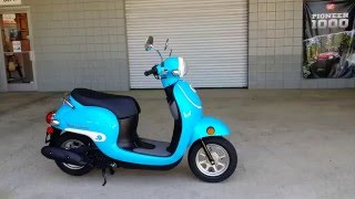 2016 Honda Metropolitan 50cc Scooter / Blue | Walk-Around Video | Review at HondaProKevin.com