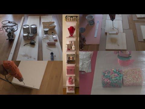 👷🏽♀️S.D.I.H (She Did It Herself) | D.I.Y. Shelf for Beauty Room, Storage and Organization