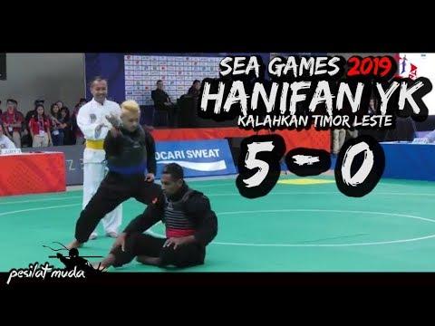 SEA GAMES 2019 🔴🔵HANIFAN YK KALAHLAHKAN TIMOR LESTE 5 0 #SEAGAMES2019 #SEAGAMES2019 #HANIFAN