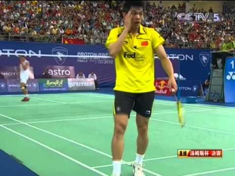 F - CHN vs INA - MS1 - Lin Dan vs Taufik Hidayat -  Thomas Cup
