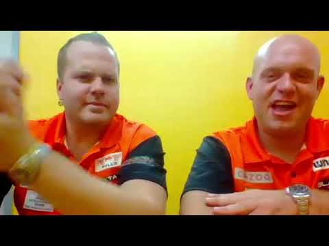 """Michael van Gerwen: """"The other partners were not good enough! Dirk deserves to be here"""""""