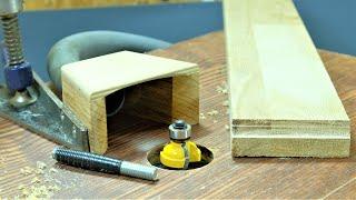 Опорный штифт для фрезерного стола | Работа фрезером по дереву