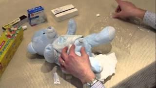 Diamond Circumcision - Demonstration of EMLA Application