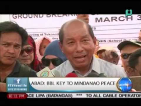 [NewsLife] Abad: Bangsamoro Basic Law key to Mindanao peace || Apr. 1, 2015