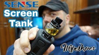 True Mesh Coils! Screen Tank By Sense! - Mike Vapes