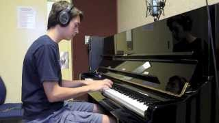 Max Holm Grammy Band Jazz Piano Audition 2014 - Billie