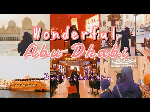 ABU DHABI VLOG 2020 | Grand Mosque, Ferrari World, Dubai Creek, Dubai Museum | wonderful Abu Dhabi