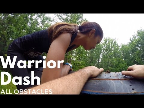 Warrior Dash All Obstacles
