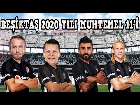 BEŞİKTAŞ'IN 2020 YILI MUHTEMEL KADROSU 😱😱😱