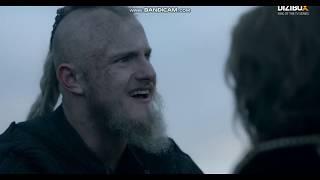 Vikings 5x11 Rollo Bjorna Babası Olduğunu Söylüyor