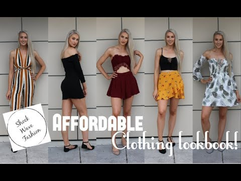 Affordable Clothing Try On Haul!! ♡ Shock Wave Fashion