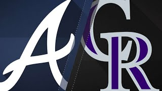 8/17/17: Inciarte homers twice as Braves top Rockies