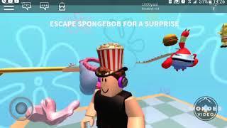Roblox | escape spongebob obby | new intro | english