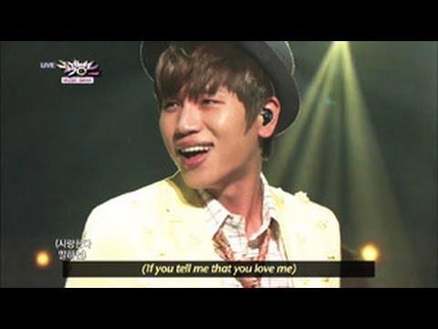 K.WILL - Love Blossom (2013.05.04) [Music Bank w/ Eng Lyrics]