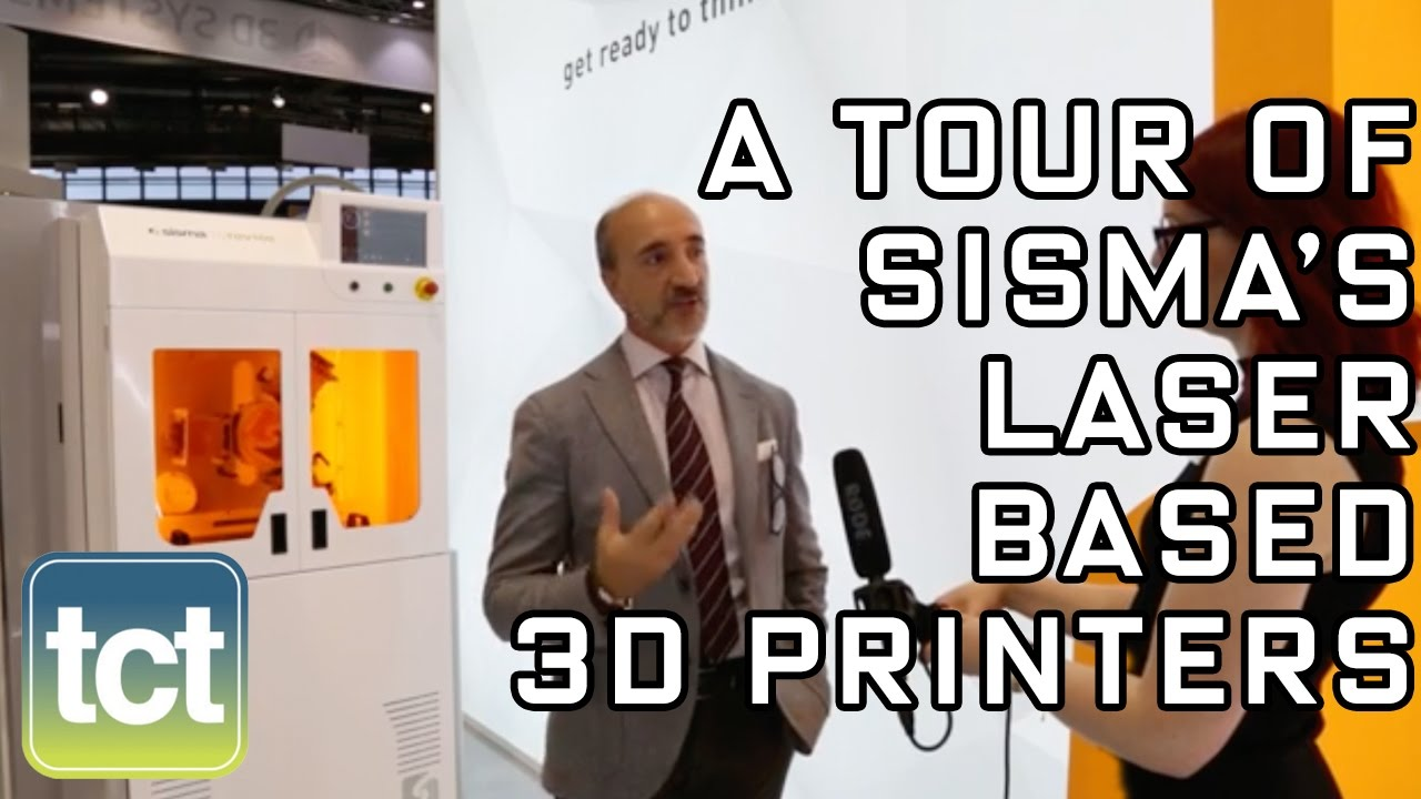 A tour of Sisma's laser 3D printing technologies | formnext powered by tct