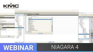 Webinar: KMC Controls Niagara 4 | 11.20.19