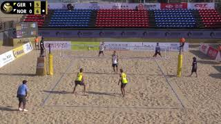 A.Mol/Sørum (NOR) vs. Thole/Wickler (GER) Final Qualification Round FIVB World Tour Xiamen, China