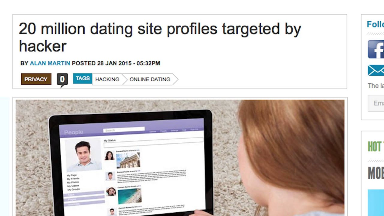 hacked dating profiles