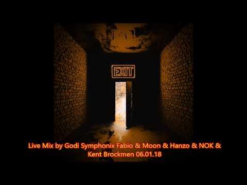 Live Mix by Godi   Symphonix Fabio & Moon & Hanzo & NOK & Kent Brockmen   06 01 18