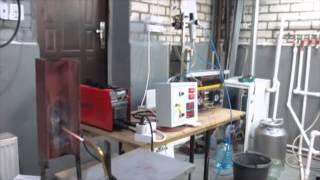 Наш новый элекролизер ''Рубэновна'' с контролем давления и температуры