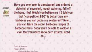 Bbq Food - Enjoy Ribs, Beef Brisket And..