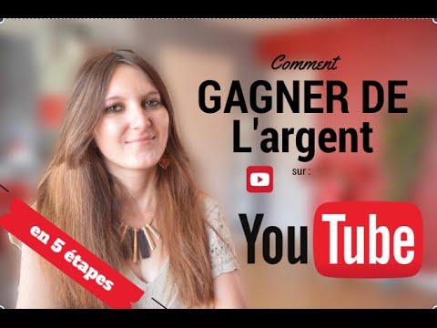 comment gagner de l'argent sur youtube 2016