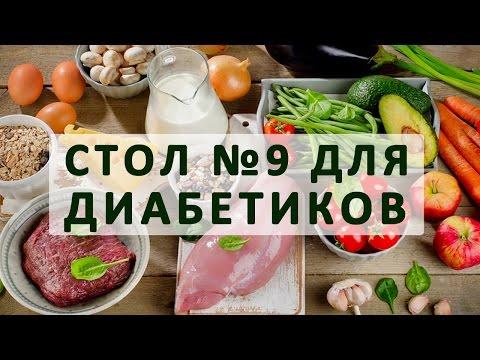 Стол №9 при сахарном диабете. Меню на неделю и рецепты диетических блюд - Простые вкусные домашние видео рецепты блюд