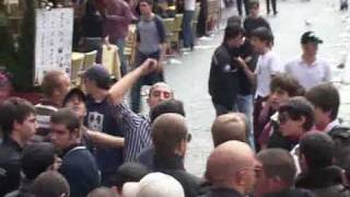 29-10-08 Piazza Navona - (parte5) Comunisti all