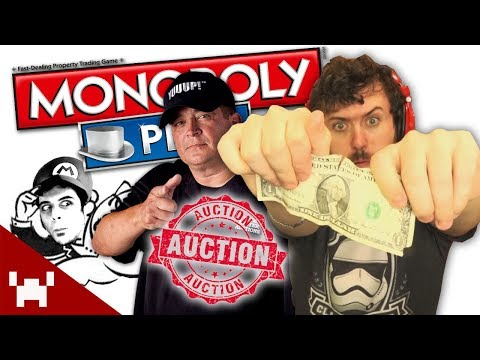 AUCTION RULES! | Monopoly Plus w/ Ze, Chilled, Gassy, & Hutch