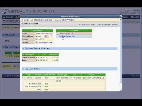 Virtual Software, SmartVault and QuickBooks integration for online expense reports