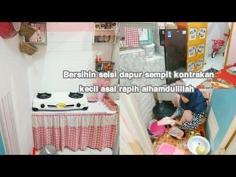 Bersihin Seisi Dapur Sempit Kontrakan 3 Petak   Kunci Wajan Kinclong