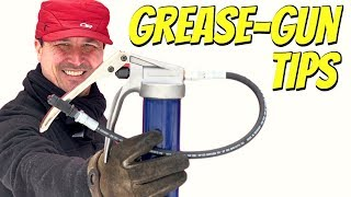 Grease Gun - How To Use A Grease-Gun Properly