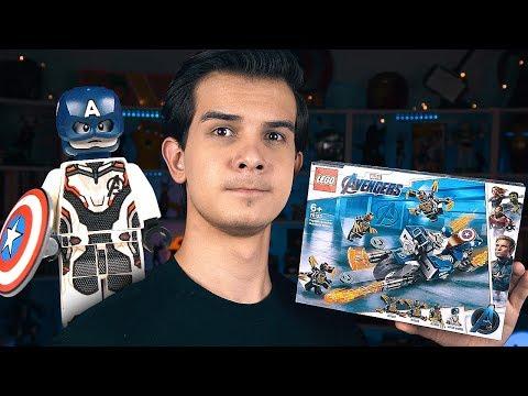 LEGO Мстители 4 - КАПИТАН АМЕРИКА (76123)