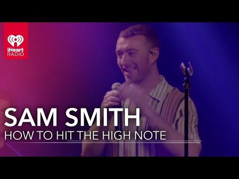 Sam Smith Grabs His What To Hit The High Note?! | IHeartRadio Album Release Party