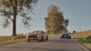 TEST: Ford Mustang Convertible versus Mercedes-Benz Clasa E Cabriolet