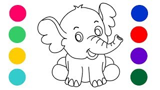 Coloring For Kids || Coloring Pages|| Learn Coloring ||