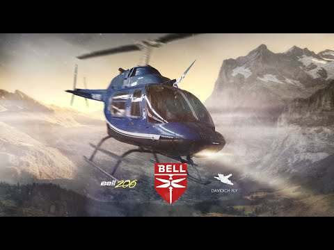 Davidich FLY Обзор Вертолёта Bell 206