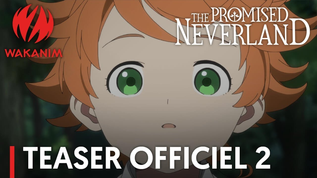The promised neverland teaser officiel 2 vostfr