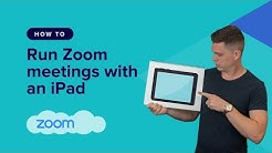 How to Use Zoom with an iPad or iPhone for Client Meetings