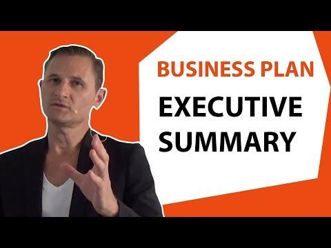 Executive summary de votre business plan #2