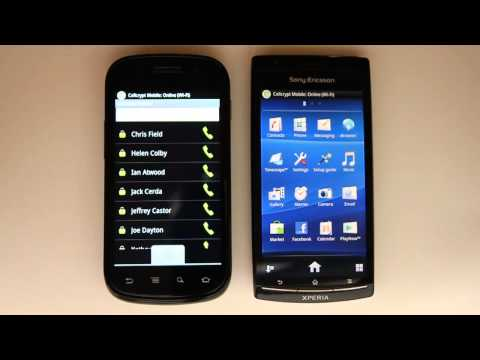 Live Test of an Encrypted Call on Android phone using Cellcrypt Mobile
