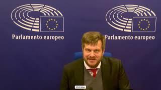 Intervento in Plenaria dell'europarlamentare Pierfrancesco Majorino sull'arresto di Aleksej Naval'nyj.