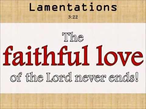 UNFAILING LOVE Scriptures