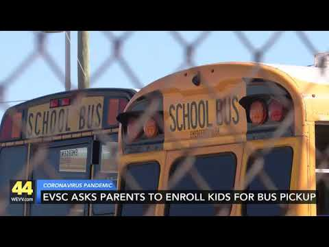 Evsc Asks Families To Enroll Students In Bus Transportation Youtube
