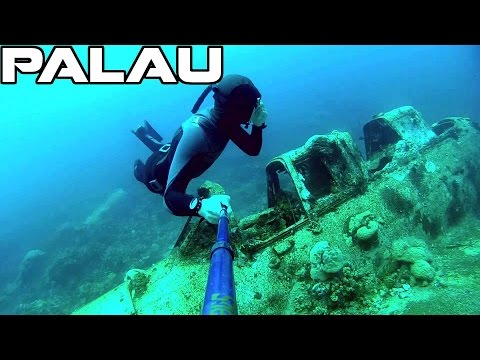 Seaplane Wreck | Freediving Palau | Jake Seaplane | GoPro