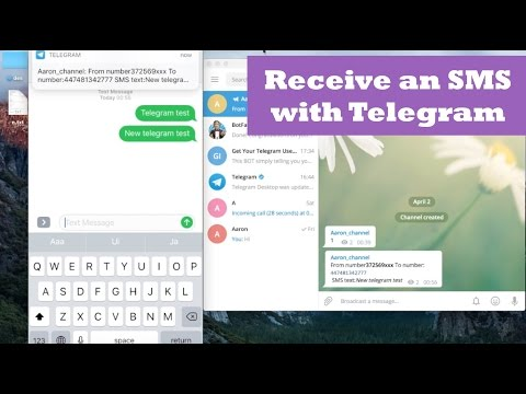 Telegram Bot + Receive SMS. Telegram Bot Tutorial