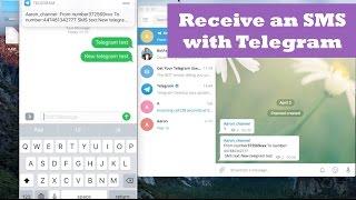 Telegram Bot + Receive SMS. Telegram Bot Tutorial