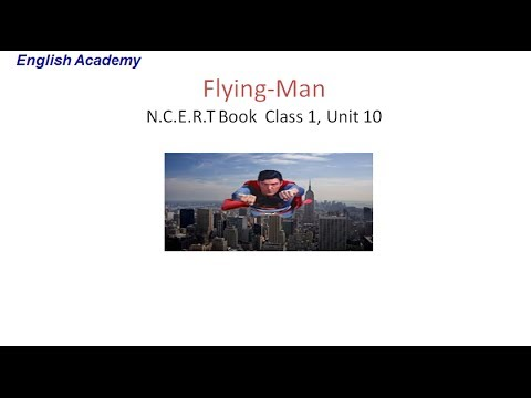 Flying Man l CBSE English Class 1 Lesson 10